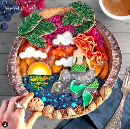 Keren! Karya Seni di Atas Pie Buatan Mantan Art Director Hollywood