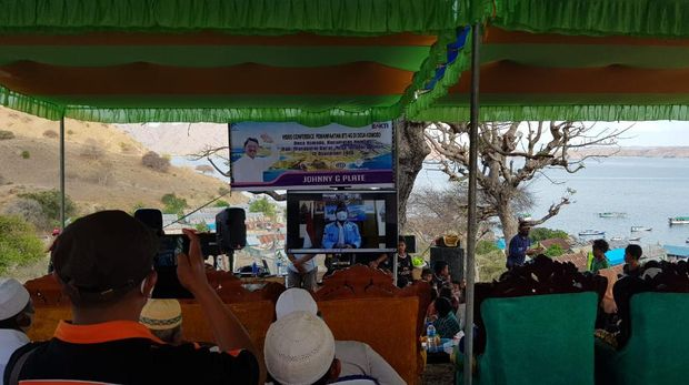Kementerian Komunikasi dan Informatika (Kominfo) menambah kapasitas bandwidth Base Transceiver Station (BTS) di Taman Nasional Komodo.