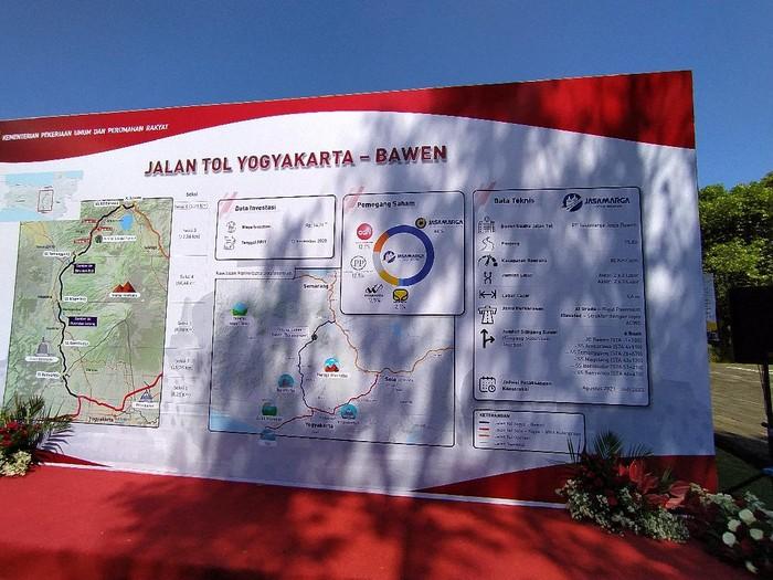 Peta lokasi Jalan Tol Yogyakarta-Bawen