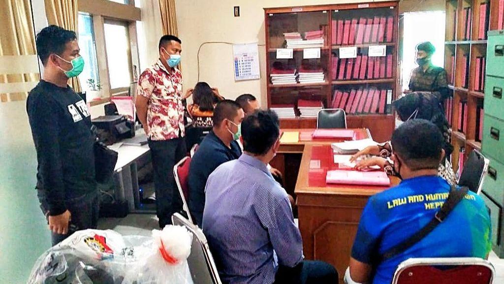 ABG Anggota Klub Harley Pengeroyok TNI Diserahkan ke Kejari Bukittinggi