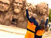 Taman rekreasi Nijigen no Mori dipenuhi dengan atraksi yang terinspirasi dari anime dan budaya pop Jepang.