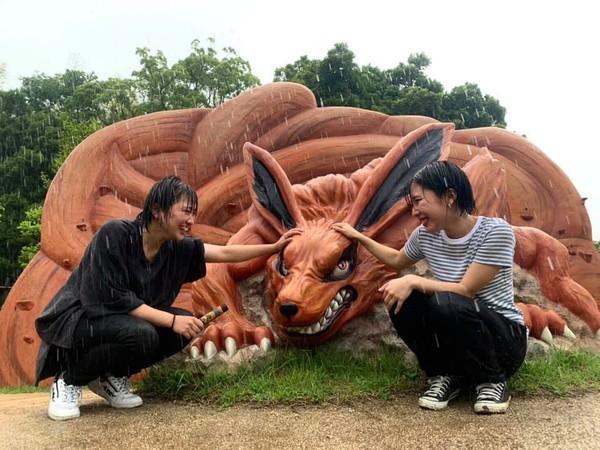 Kurama dielus para traveler.Lokasi tepat taman rekreasi Nijigen no Mori ada di Nijigen no Mori, 2425-2 Kusumoto, Awaji-shi, Hyogo, Jepang, +81 0799 64 7061.