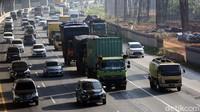 Macet 4 Km, Polisi Setop Sementara Penyekatan di Tol Cikarang Utama