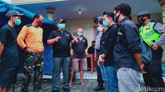 Deputi Bidang Pencegahan BNPB, Lilik Kurniawan, di Desa Balerante, Kecamatan Kemalang, Klaten, Sabtu (14/11/2020).