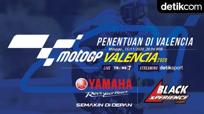 Infografis MotoGP Valencia 2020