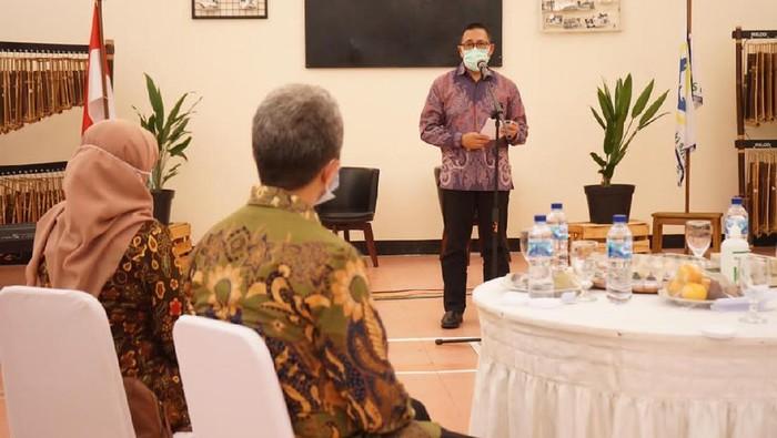 Kementerian Kesehatan meresmikan ruang isolasi pelayanan COVID-19 di Rumah Sakit Jiwa (RSJ) dr Marzoeki Mahdi Kota Bogor.