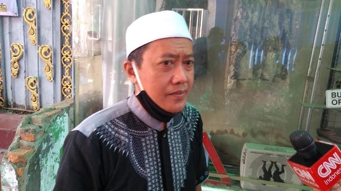 Ketua panitia maulid, dan pernikahan putri Habib Rizieq, Haris Ubaidillah