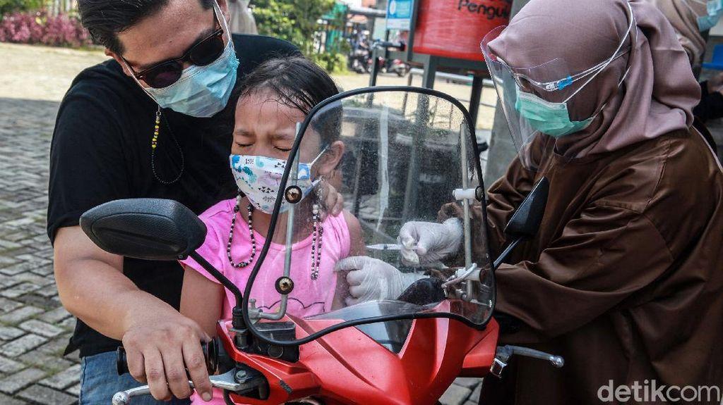 Kini Imunisasi Anak Bisa Drive Thru