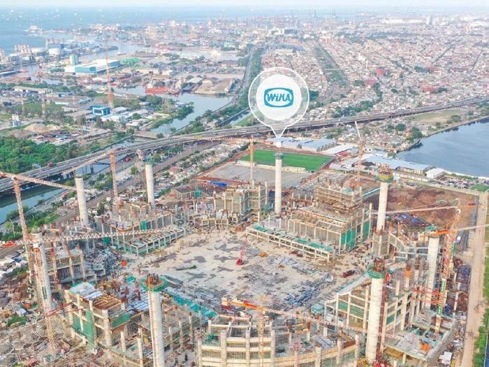Penampakan terkini proyek Jakarta International Stadium, 'Old Trafford' Jakarta