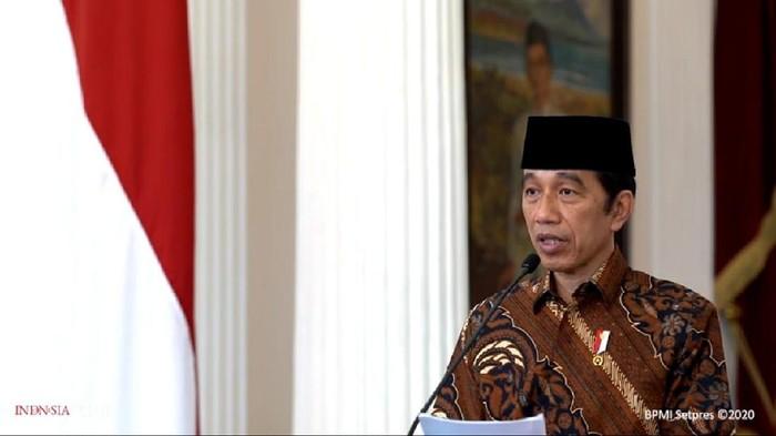 Presiden Jokowi membuka Musabaqah Tilawatil Quran (MTQ) tingkat Nasional ke-28 Tahun 2020 yang digelar di Sumbar (YouTube Sekretariat Presiden)