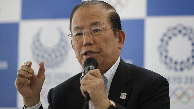 CEO Toshiro Muto dari komite Olimpiade Tokyo