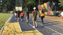 Kata Warga Soal Vandalisme Alun-alun Hits Kota Tangerang