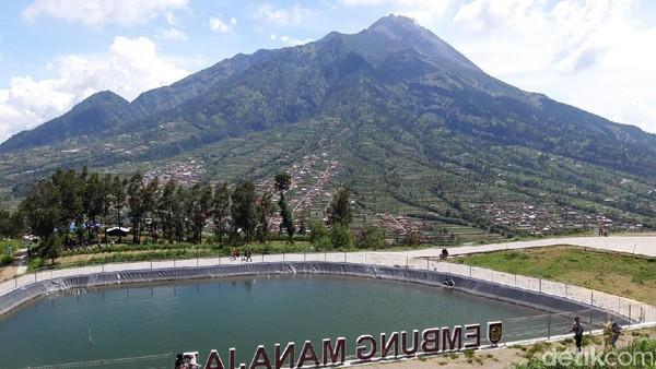Embung Manajar Foto: Ragil Ajiyanto/detikcom