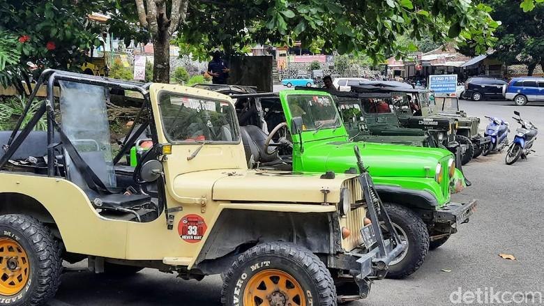 Jip lava tour Merapi