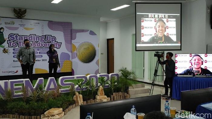 Kota Kediri Bikin Webseries English Massive