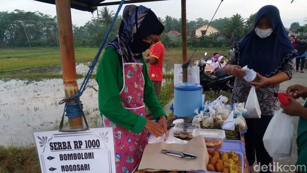 Istilah Bahasa Jawa tiban dipakai karena sebelumnya lokasi itu memang bukan pasar, tapi tiba-tiba ada aktivitas layaknya pasar. Sementara Dalling merupakan akronim dari nama lingkungan setempat yakni Daleman dan Gemuling. (Foto: Rinto Heksantoro/detikcom)