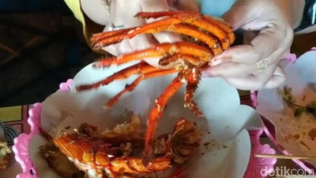 Nyam! Lobster Asam Manis Pedas Khas Pacitan yang Bikin Nagih
