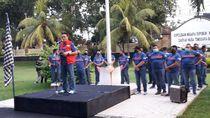 Gowes Road to PON Papua, Polda NTB Siap Beri Keamanan Maksimal