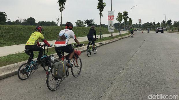 Rute gowes Bintaro Tangerang Selatan (Tangsel)