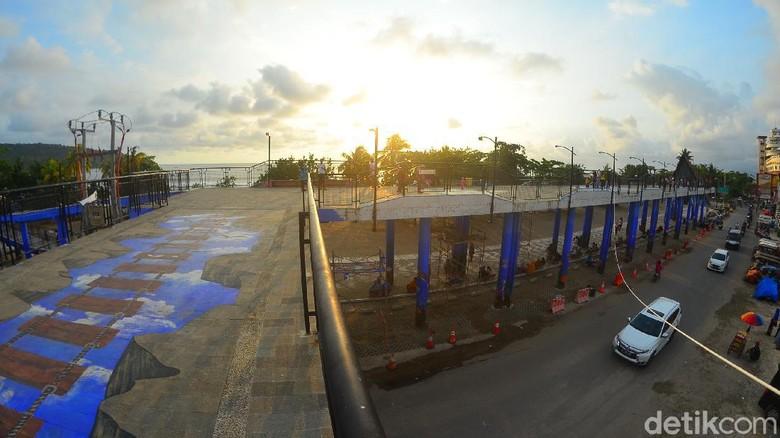 Skywalk Pantai Pangandaran