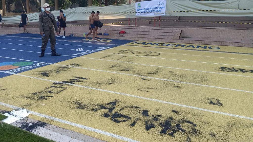 Viral Jadi Korban Vandalisme, Ini Penampakan Jogging Track Hits di Tangerang