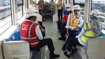 Wuss...Budi Karya Jajal LRT Jabodebek