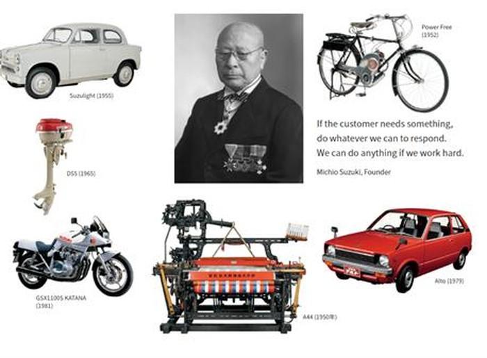 100 tahun suzuki: dulu pembuat mesin tenun, kini juara MotoGP