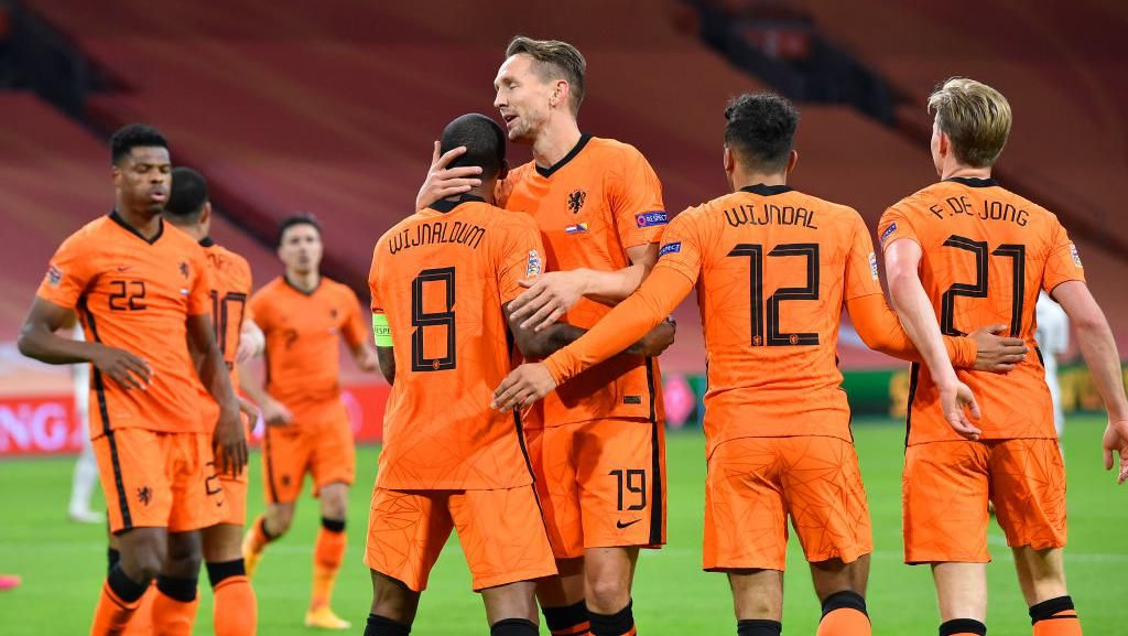 Belanda Vs Bosnia: Wijnaldum Cetak Dua Gol, De Oranje Menang 3-1