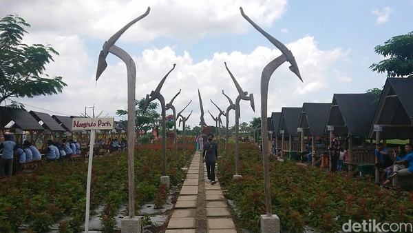 Nangkula Park Tulungagung kini menjadi salah satu destinasi favorit masyarakat.