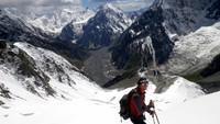 Pada ekspedisi pada tahun 2014, ketiga pendaki berhenti di sekitar tanda 6.000 meter. Gunung Muchu Chhish pernah pernah akan didaki kembali pada 2020 dalam ekspedisi orang Ceko, namun pandemi Corona jadi penghalangnya (Foto: CNN)