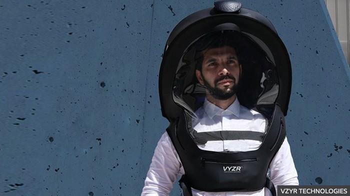 helm canggih anti covid-19