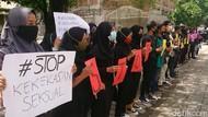 Mahasiswa IAIN Tulungagung Demo Kasus Mahasiswa Lakukan Pelecehan Seksual