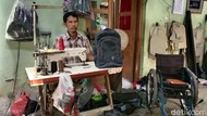 Kisah Penyandang Disabilitas Perajin Tas Bertahan di Tengah Pandemi