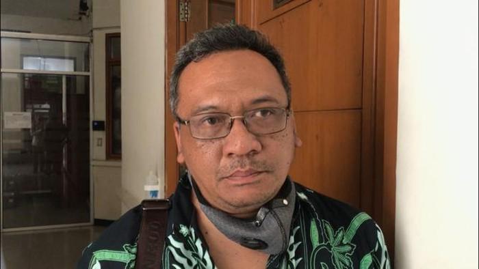 Kuasa hukum MAKI, Kurniawan di Pengadilan Negeri Jakarta Selatan
