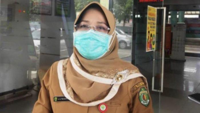 Kepala Dinas Kesehatan Provinsi Kaltim, Padilah Mante Runa.