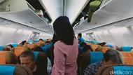 Begini Suasana Penerbangan Jakarta-Medan saat Pandemi