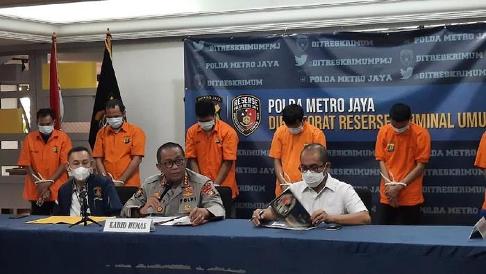 Polda Metro Tangkap Komplotan Pencurian Sepeda