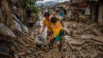 Melihat Lebih Dekat Keganasan Topan Vamco di Filipina
