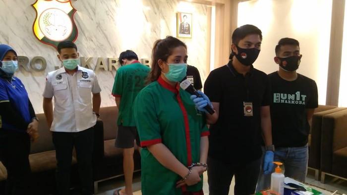 Selebgram Syaima Salsabila ditangkap polisi karena penyalahgunaan ganja