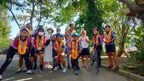 6 Wanita Tuntaskan Bersepeda 1.282 Km dari Jakarta-Bali