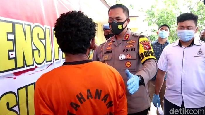Aksi sadis suami bunuh istrinya di Sukabumi
