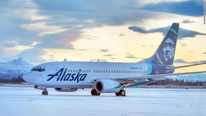 Alaska Airline menabrak beruang saat landing