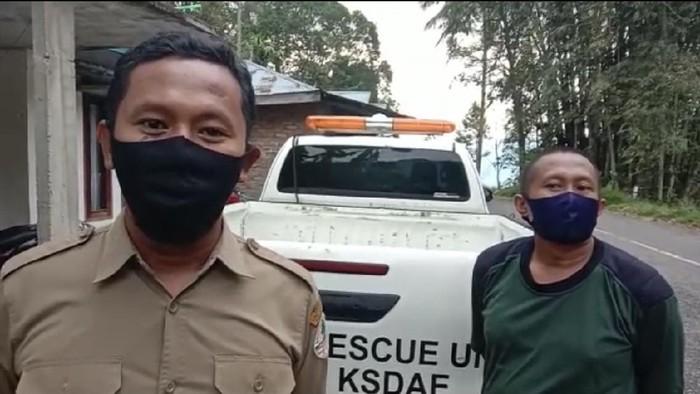 BKSDA Agam memasang perangkap untuk menangkap beruang madu yang beberapa kali muncul di Kelok 44 dan resahkan warga (dok Istimewa)