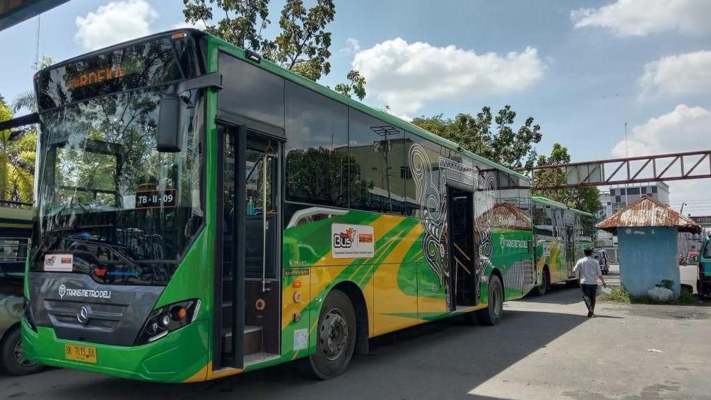 Mulai Diuji Coba di Medan, Bus Transmetro Deli Gratis hingga Desember 2020