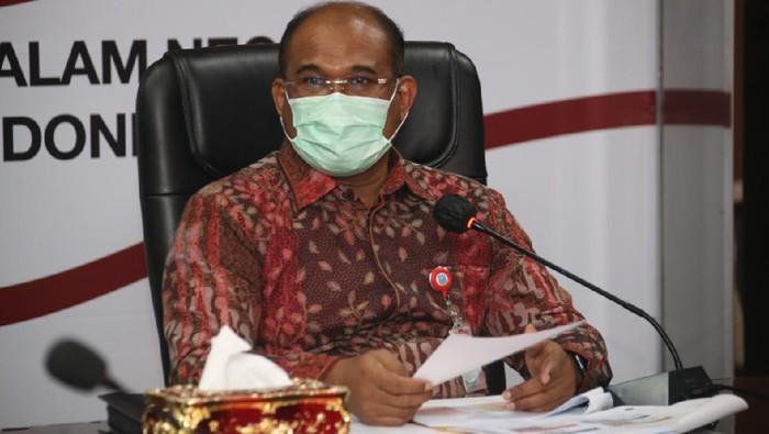 Direktur Jenderal Bina Administrasi Kewilayahan Kementerian Dalam Negeri Safrizal ZA
