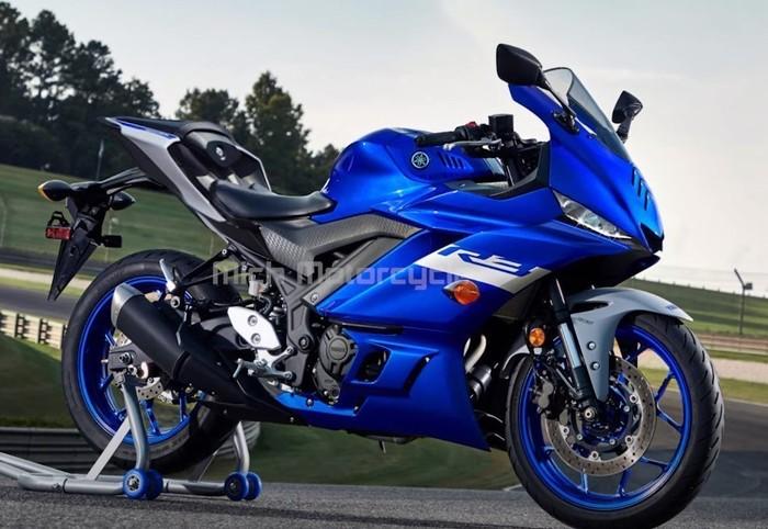 Inikah wujud Yamaha R25 facelift?