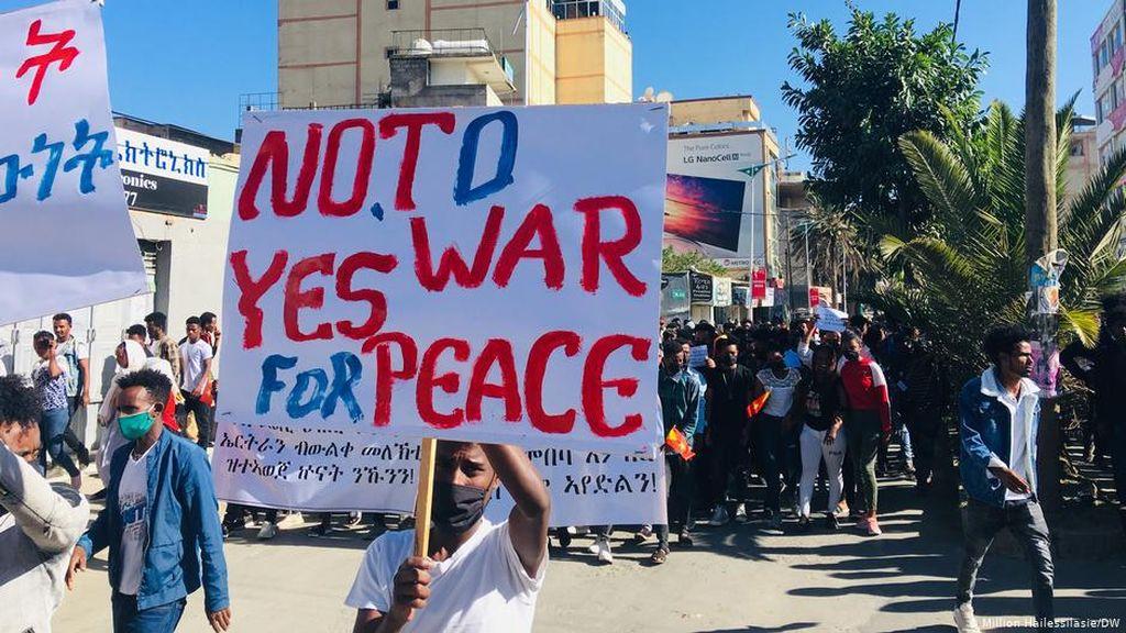 Kronologi Eskalasi Konflik Tigray-Ethiopia