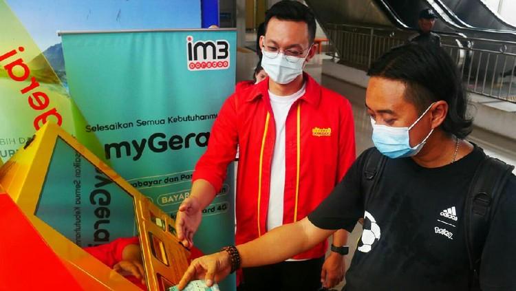 Indosat Ooredoo meluncurkan MyGerai, mesin layar sentuh bagi pelanggan untuk menikmati layanan telekomunikasi yang optimal dalam satu tempat.