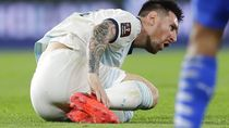 Messi Baik-baik Saja, Siap Akhiri Kutukan Lawan Peru