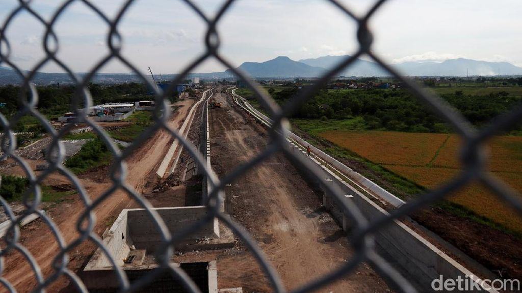 Progres Terkini Proyek Kereta Cepat di Tegalluar Bandung